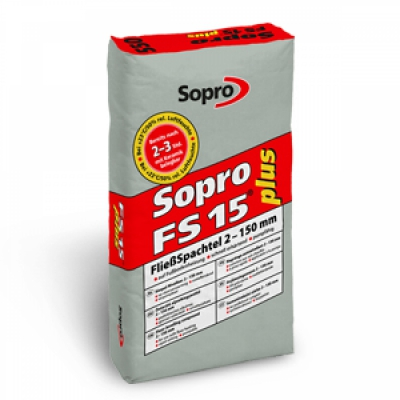 Sopro® FließSpachtel 15 plus - FS 15 550